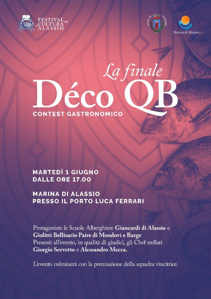 Contest Enogastronomico Déco QB: L'arte in piatto