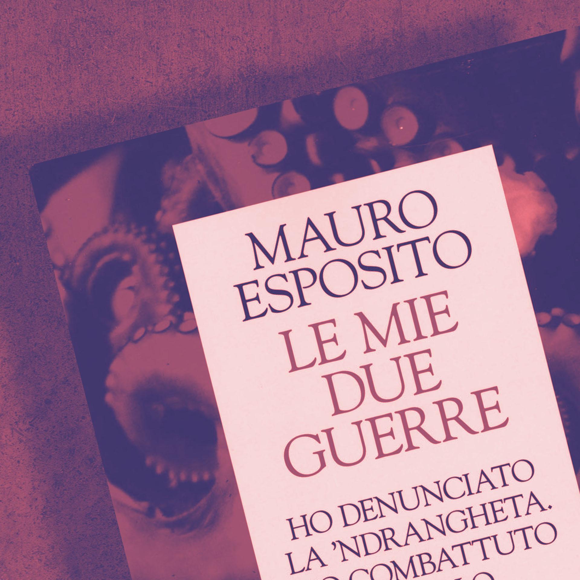 """Mauro Esposito presenta il libro """"Le mie due guerre"""""""