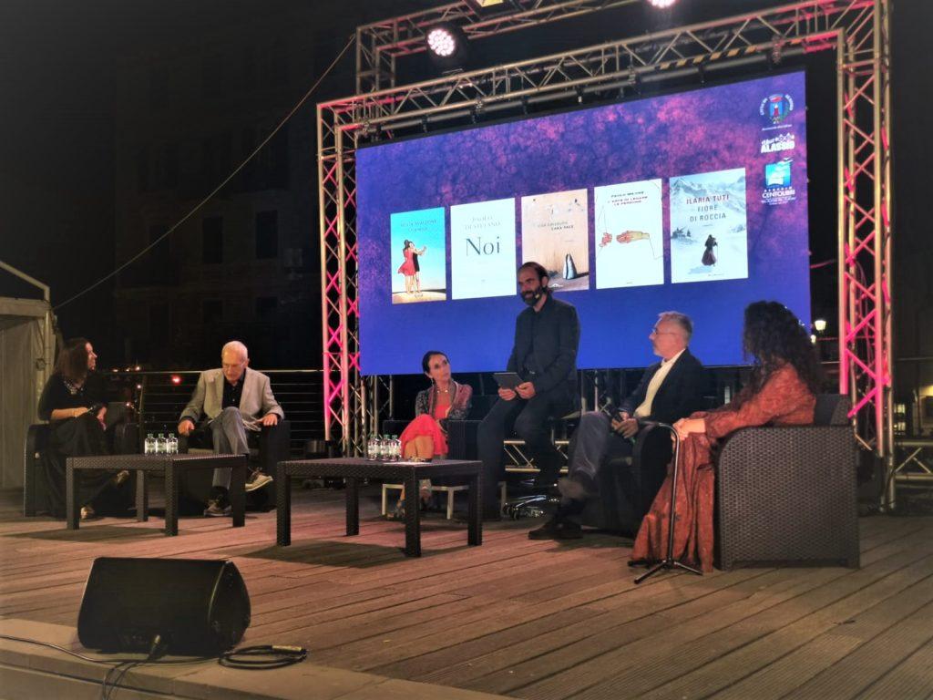 i cinque finalisti della 27° edizione del Premio Letterario Nazionale, Alassio Centolibri
